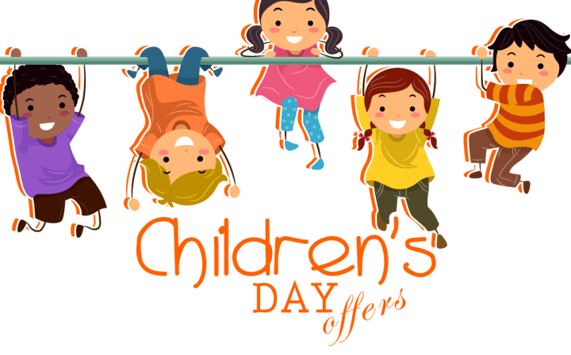 Playing Children Enjoy Your Day Happy Children's Day Children's Day Wishes