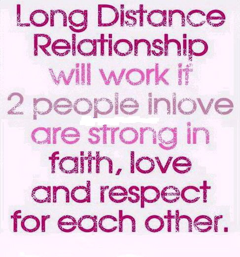 Relationship Quotes long distance relationship will work it 2 people inlove are strong