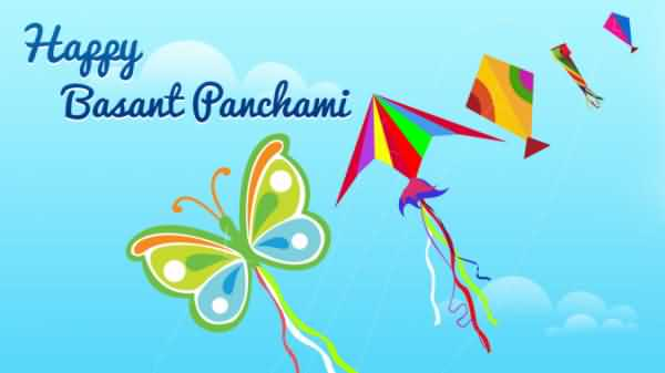 Sending You A Very Happy Basant Panchami Day Wishes Greetings Image