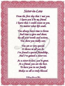 Sister In Law Quotes And Sayings 04