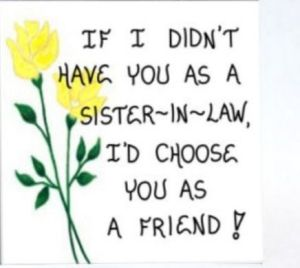 Sister In Law Quotes If i didn't have you as a sister in law i'd choose you as a friend