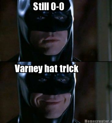 Still 0 0 Varney Hat Trick Batman Memes Pictures