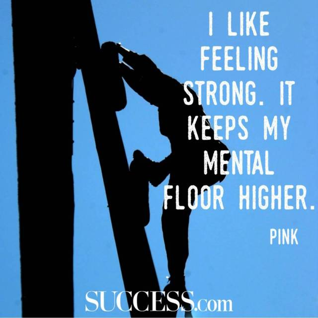 Strength Quotes I Like Feeling Strong. It Keeps My Mental Floor Higher