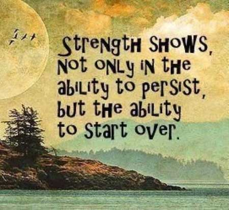 Strength Quotes Strength Shows Not Only In The Ability To Persist