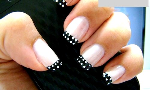 55 tremendous black and white nail art designsstyle idea picsmine stunning black and white nail art on tips prinsesfo Gallery