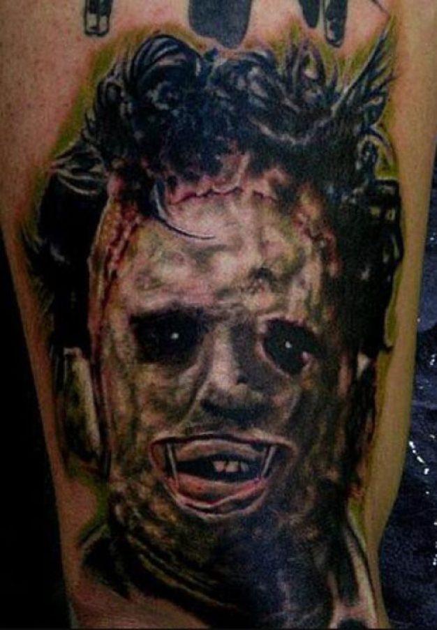 Stunning Horror Tattoo For Girls