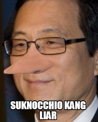 Suknocchio ang Liar Meme Picture