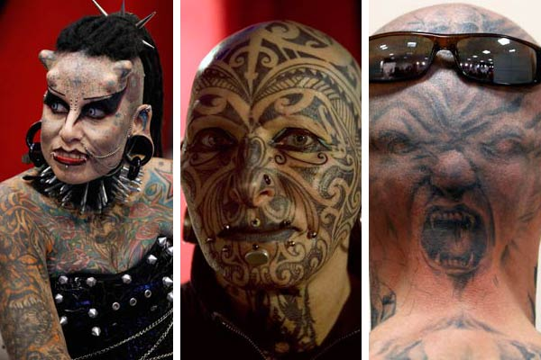 Superb Extreme Tattoo Pictures For Boys