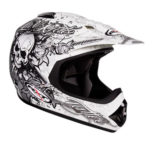 Sweet Stylish Helmet Tattoo Design For Boys