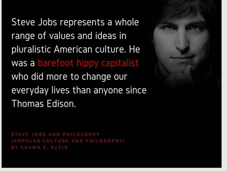 Technology Quotes steve jobs represents a whole range of values and ideas in pluralistic American culture....