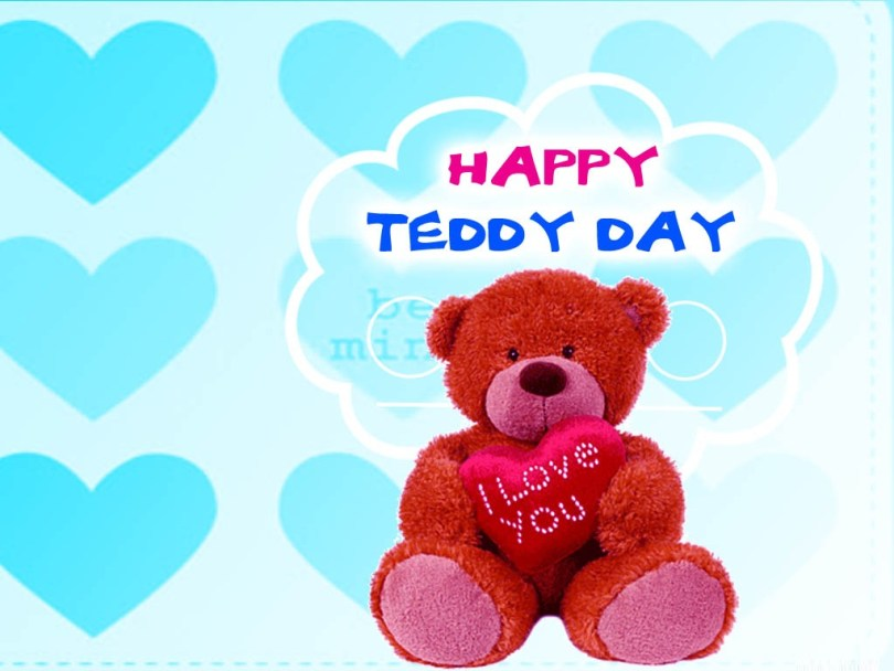 Teddy Day I Love You Wishes Image