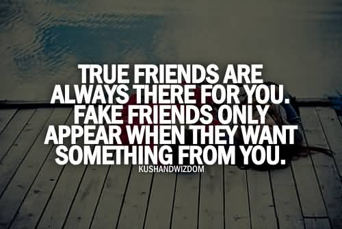 Teen Quotes true friends are always there for you....