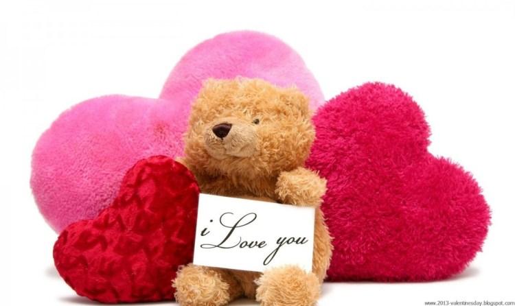 To My Teddy Bear Happy Teddy Day Wishes Image