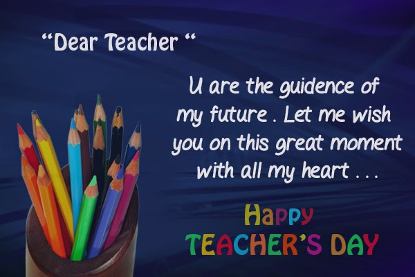 To The Best Teacher Happy World Teacher's Day Greetings Wishes Image