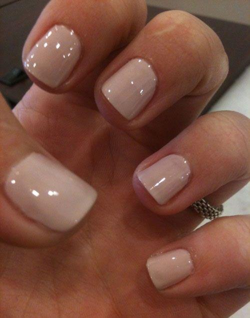 Tremendous baby pink Acrylic Short Nail Design