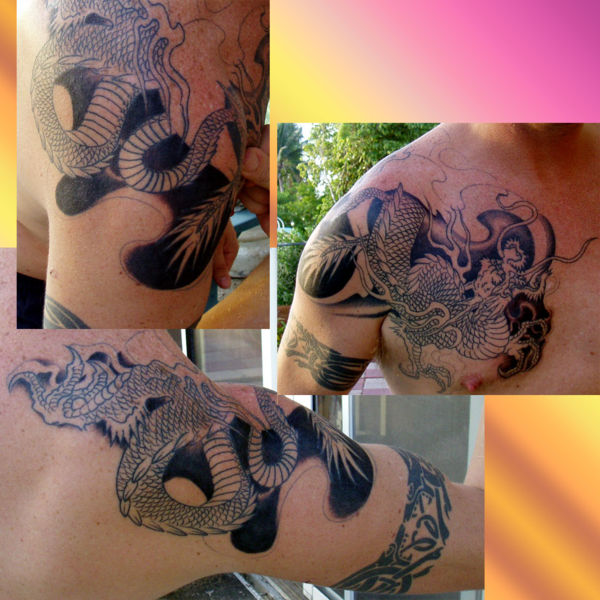Ultimate Dragon Tattoo For Boys