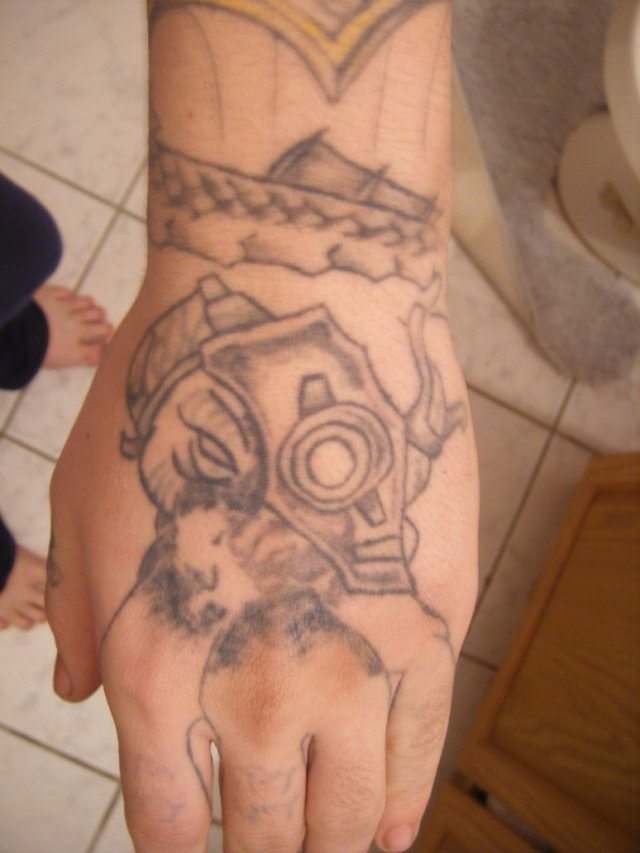Ultimate Flayer Hand Tattoo Design For Girls