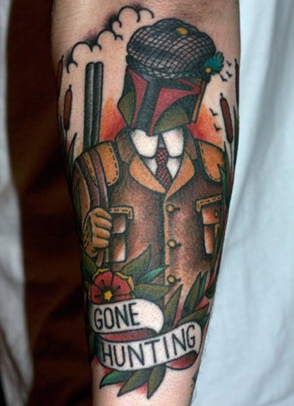 Ultimate Gangsta Tattoo Design For Boys