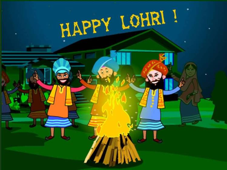 Warm Wishes For The Festival Happy Lohri Image