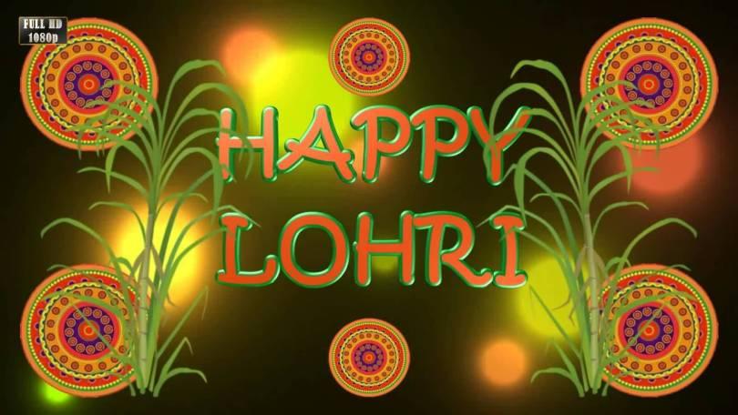 Warm Wishes Happy Lohri Greetings Image