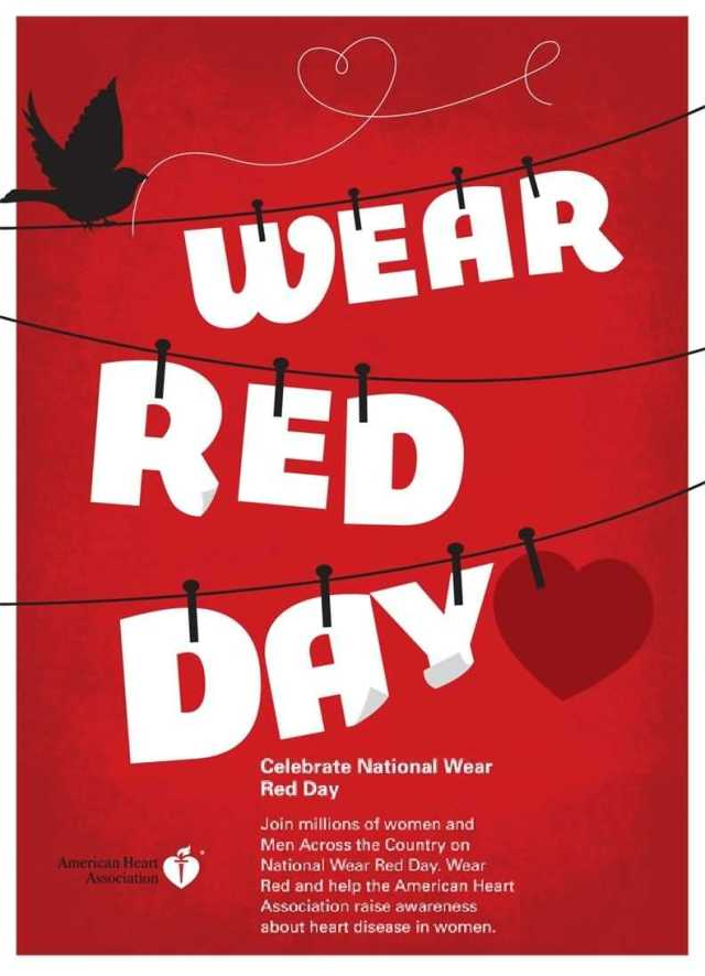 Wear Red National Wear Red Day Images