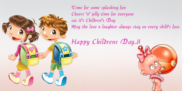 Wishing You Wonderful Children's Day