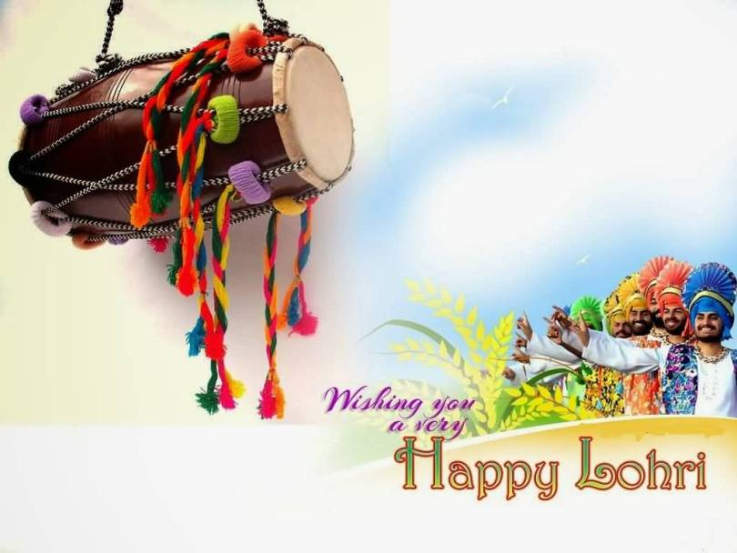 Wonderful Happy Lohri Best Greetings Image