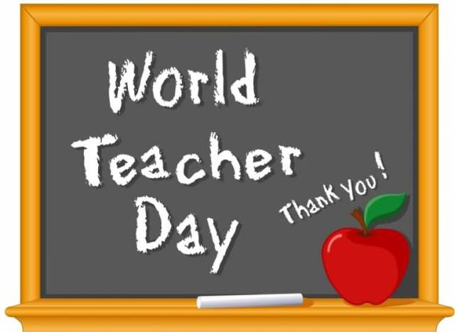 You Are The Best Teacher Happy World Teacher's Day Thank You