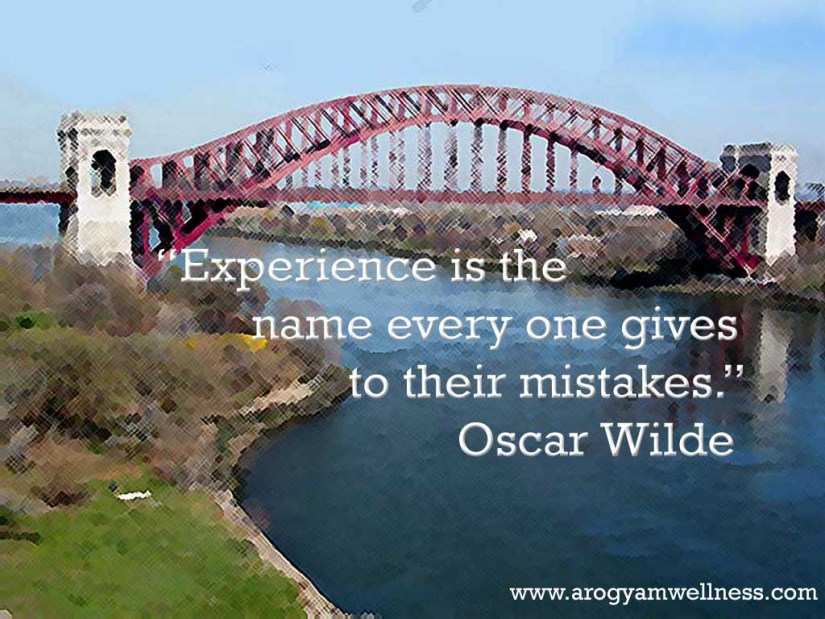 experience sayings experience is the name every one gives to their mistakes Oscar wiled