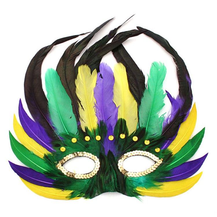 16 Mardi Gras Mask Image