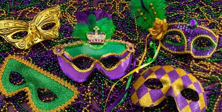 26 Mardi Gras Mask Image