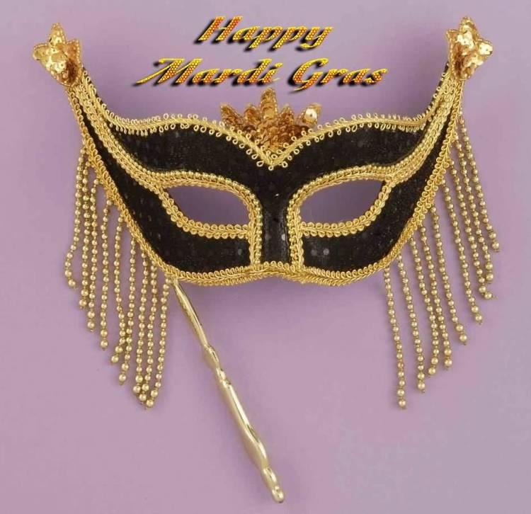 31 Mardi Gras Mask Image