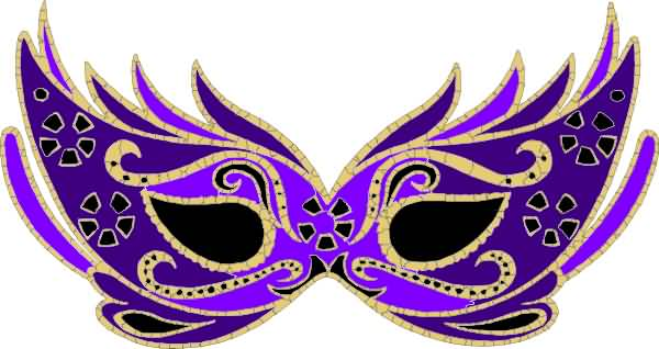 33 Mardi Gras Mask Image
