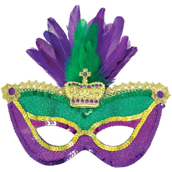 36 Mardi Gras Mask Image
