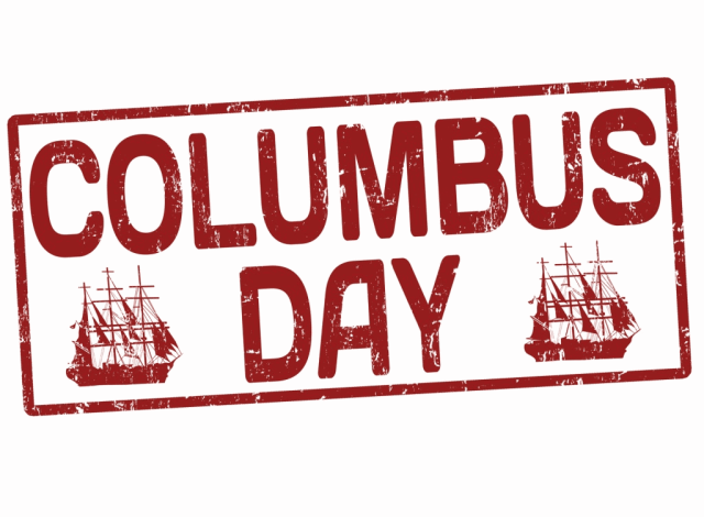 4 Columbus Day