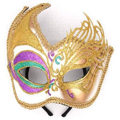 44 Mardi Gras Mask Image