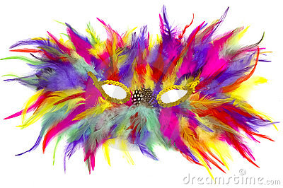 48 Mardi Gras Mask