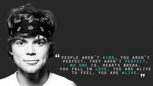 5Sos Quotes people aren't kind you aren't perfect they aren't