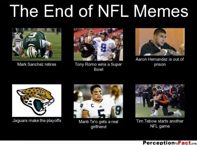 American Football Meme the end of nfl memes