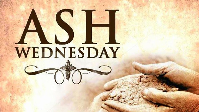 Ash Wednesday Ash On Hands Image