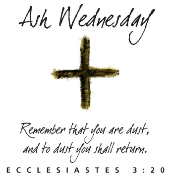 Ash Wednesday Remember