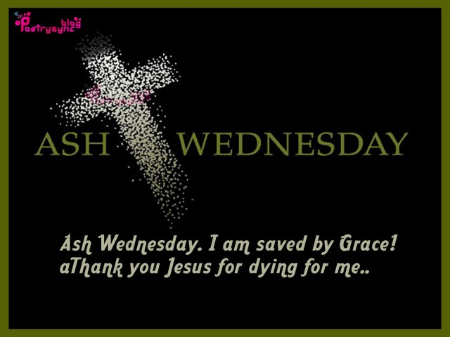 Ash Wednesday Wishes Message Image
