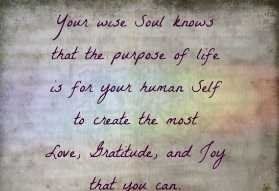 Astrology Sayings your wise soul knows that the purpose of life