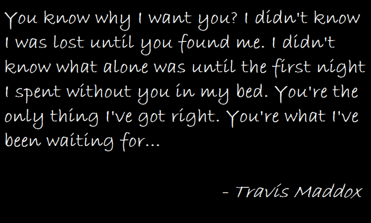 Beautiful Disaster Quotes you know why i want you i didn't know