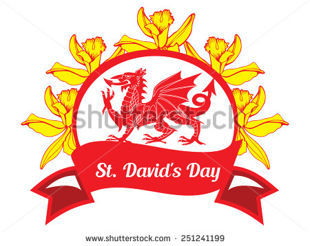 Best Wishes Happy St David's Day