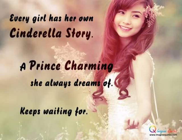 Charming sayings every girl has her own