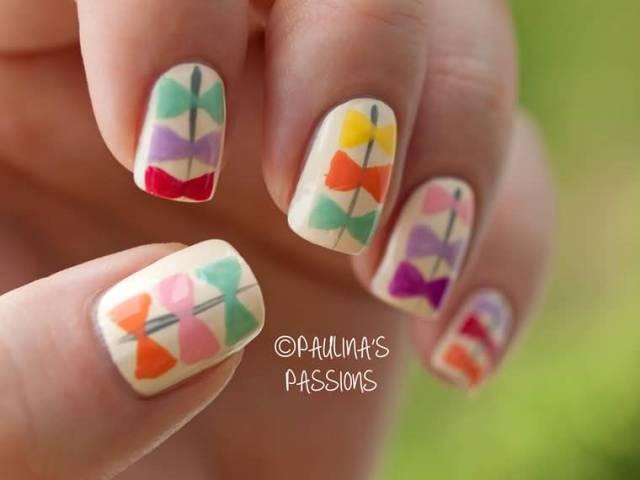 Creative Bow Nails