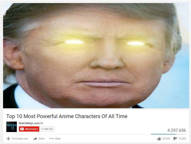 Dank meme top 10 most powerful anime characters of all time