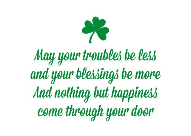 Day Quotes may your troubles be less and your blessings