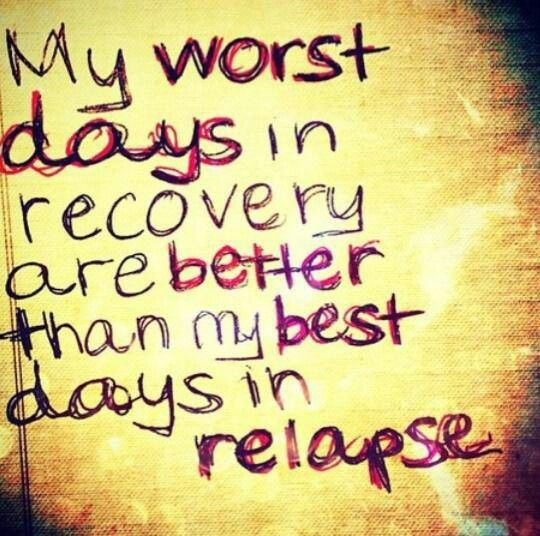 Depression Recovery Quotes my worst days in recovery are better